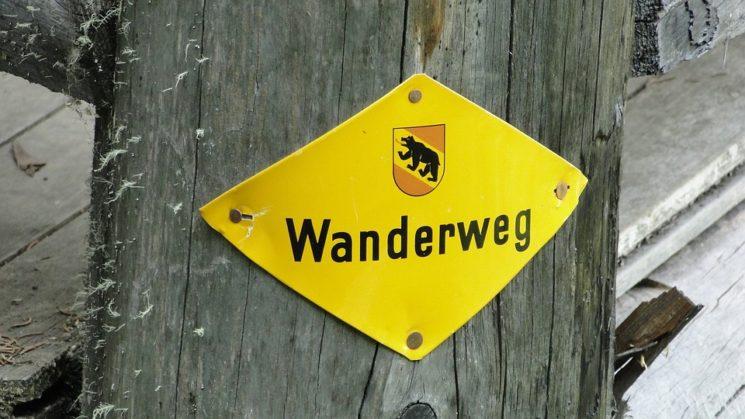 пътека в Швейцария
