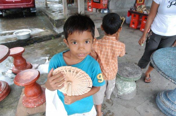 Дете на Бали