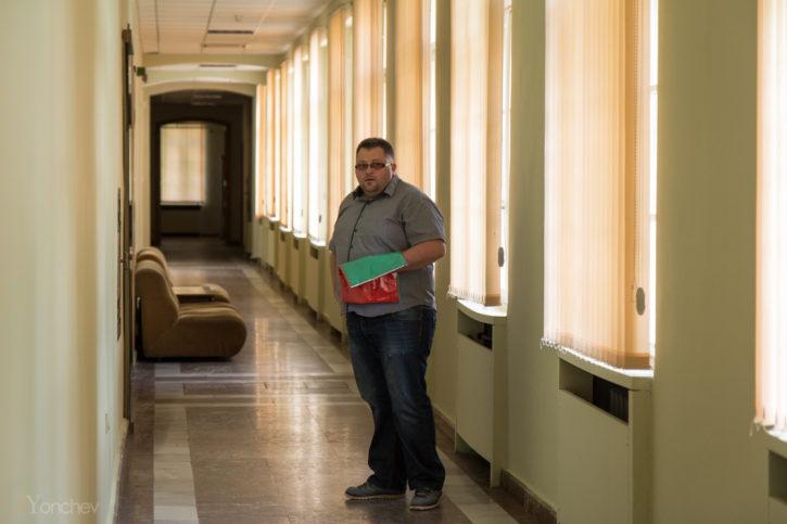Константин Фичев в Априловската гимназия