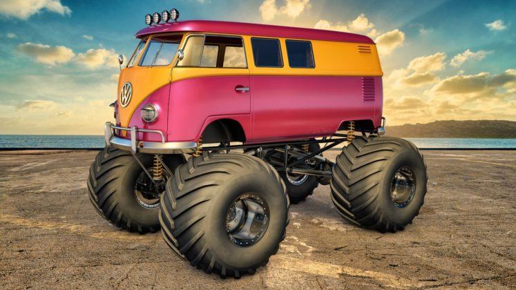 Легендарният ван на VW в офроуд вариант