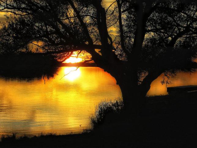 Изберете подходящо място, от което да гледате заедно залязващото слънце. Снимка: Chris Sorge via Foter.com / CC BY-SA