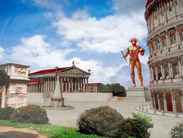 Статуя Колизеум