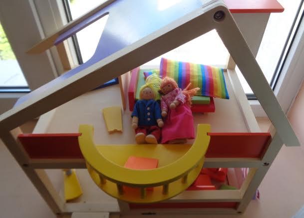 Къща за кукли за ролеви игри