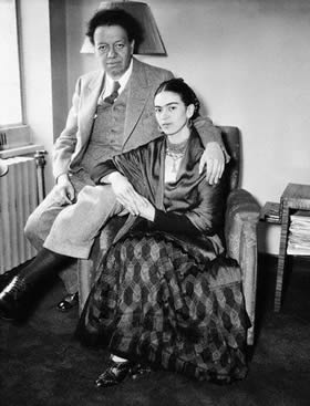 Фрида Кало и Диего Ривера