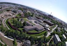 В затвора в Хелзинки