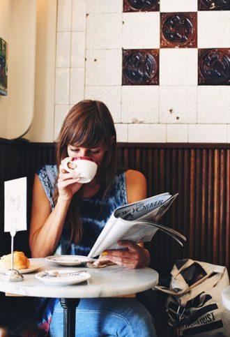кафе със себе си