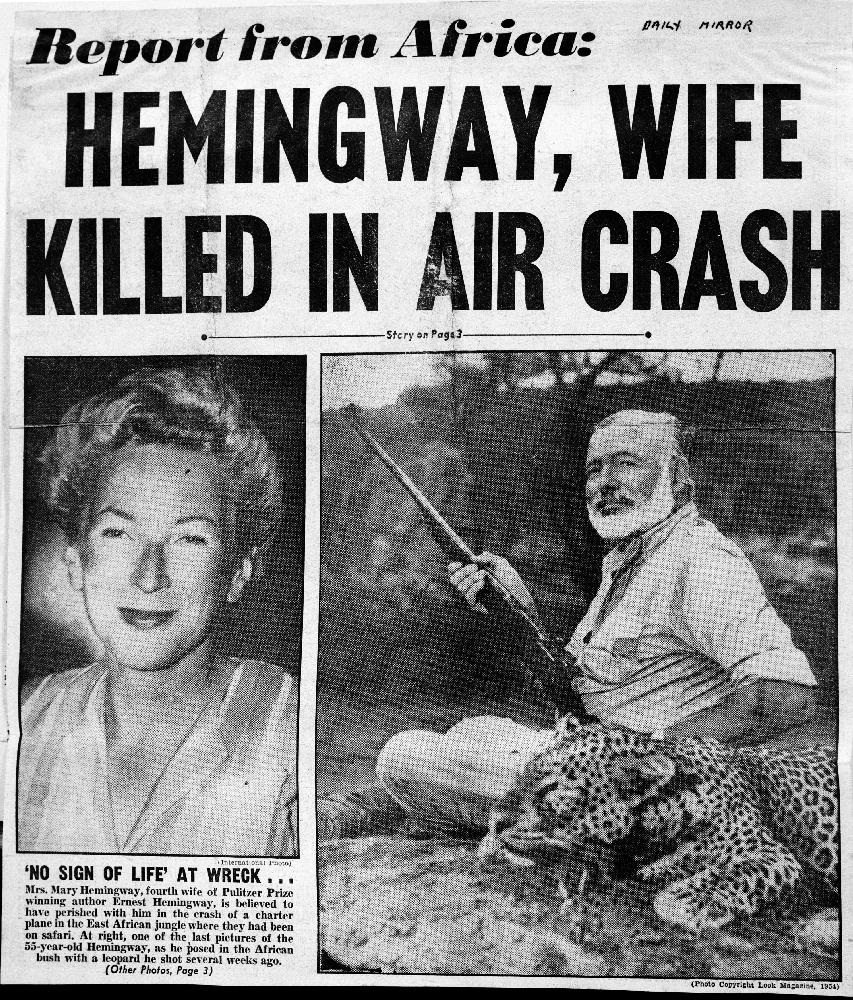 смъртта на Хемингуей