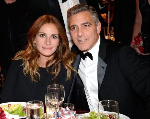 Джордж Клуни с Джулия Робъртс
