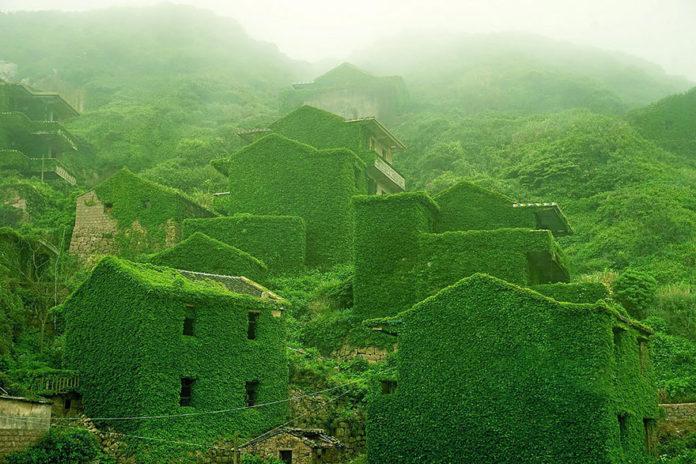 изоставено село в Китай