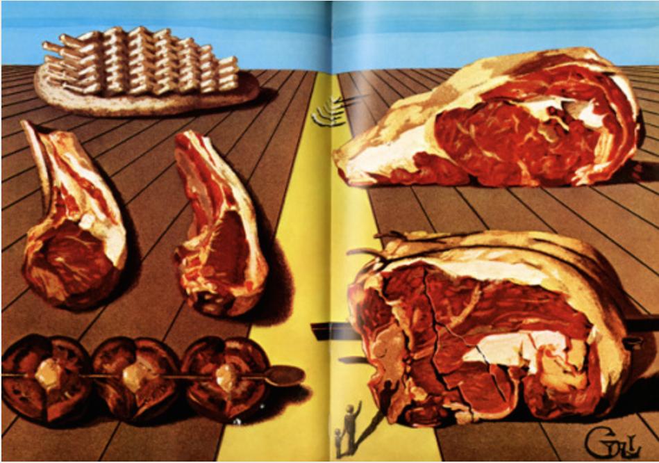 готварска книга Салвадор Дали