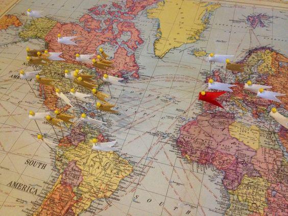 карта на света