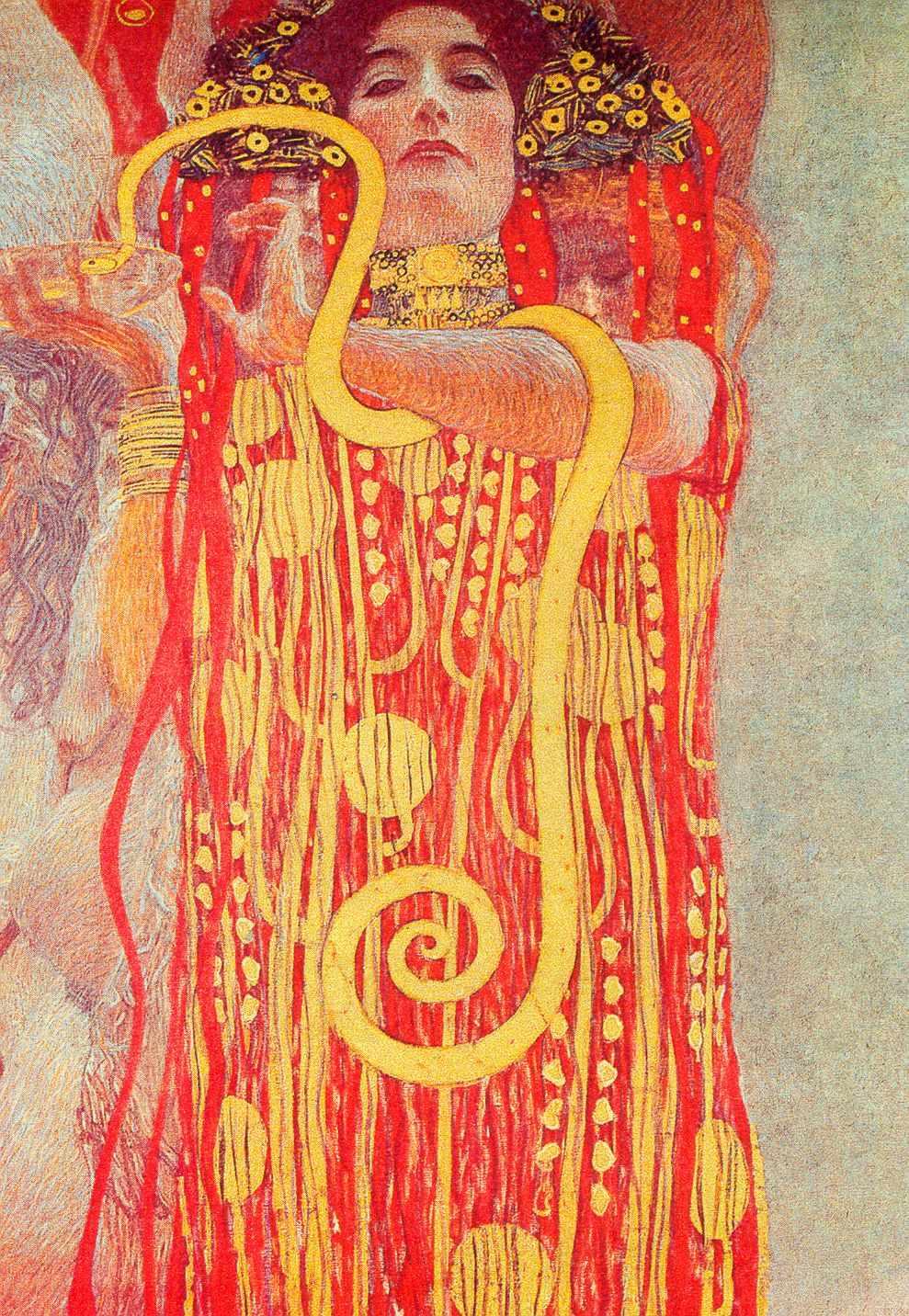 Густав Климт - стенопис
