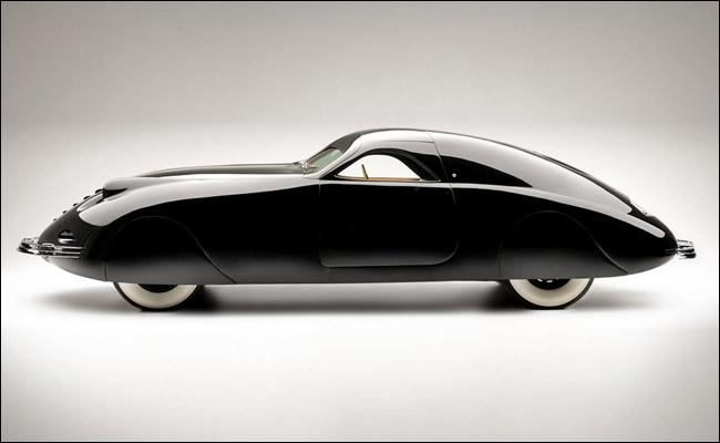 Phantom Corsair от 1938 г. е една от най-красивите коли на ар деко епохата.