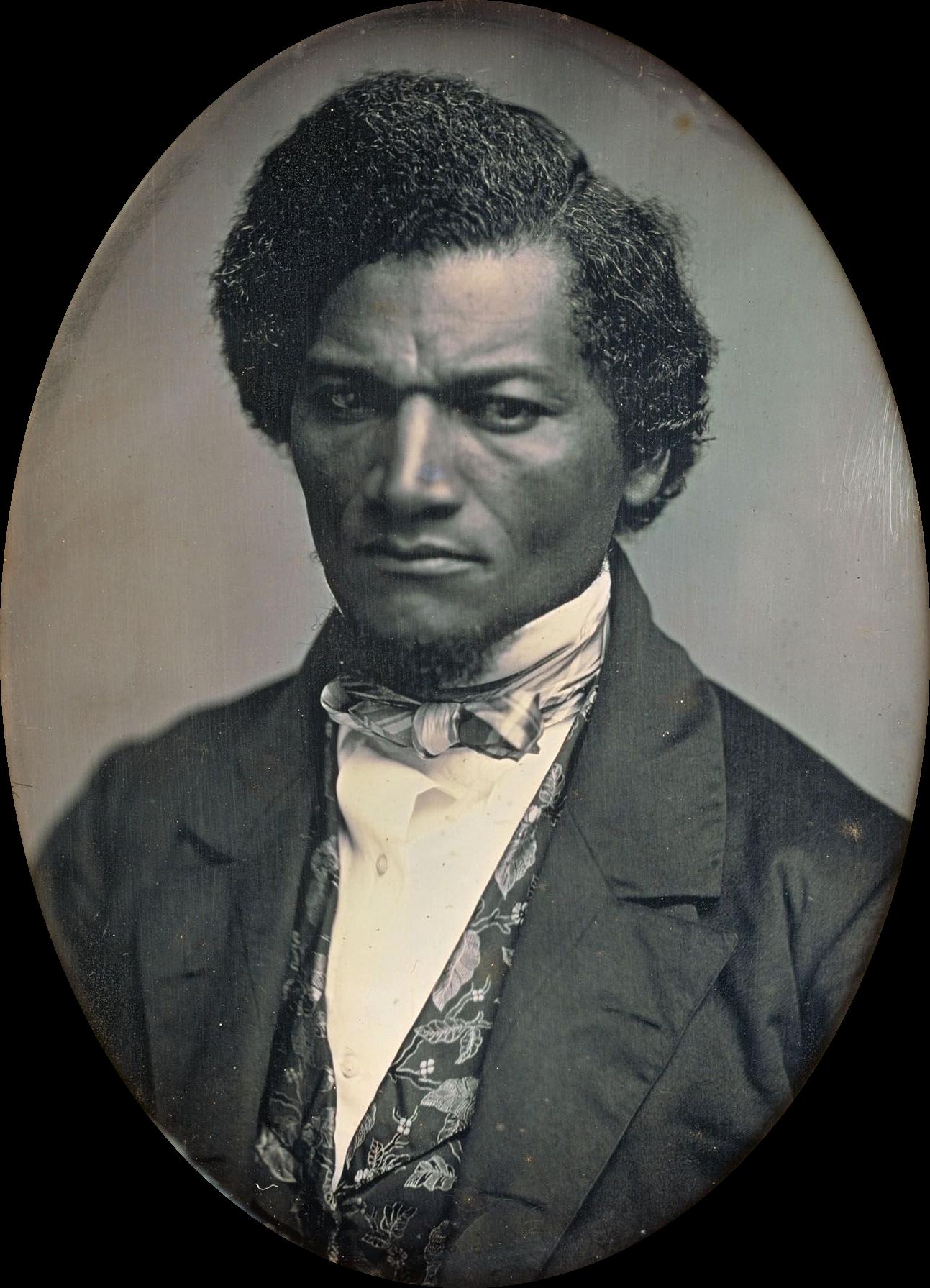 Виктория Уудхъл избира за свой вице чернокожия Фредерик Дъглас, но той дори не подозира това.