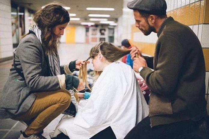 Фризьорът на бездомниците