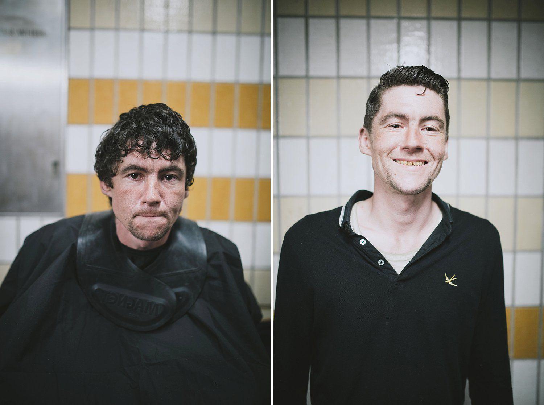 бездомните - подстрижка