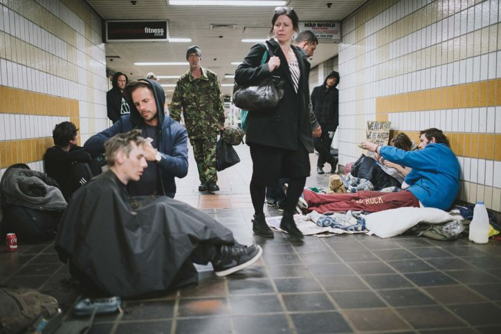 фризьорът на бездомните