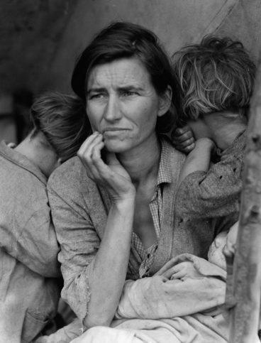 Снимката Migrant Mother