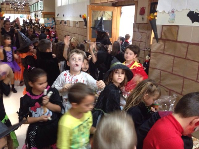в училище Испания