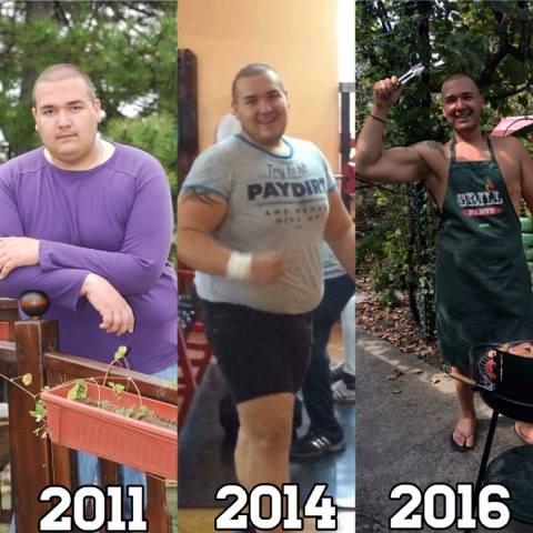 Грандиозната промяна на Андриан в снимки.
