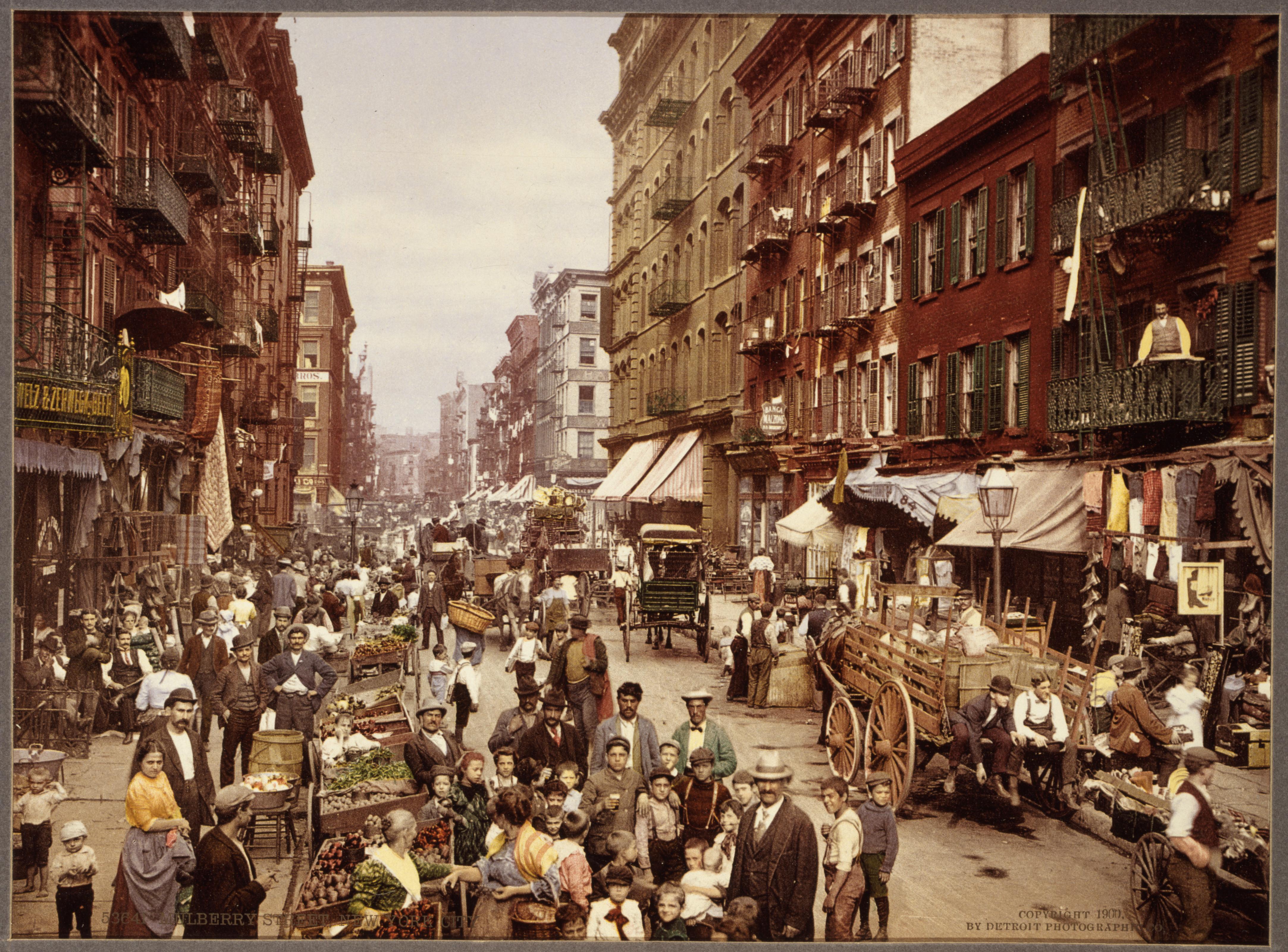 Ню Йорк през 1900