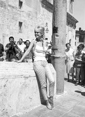 Бриджит през 1961 г.