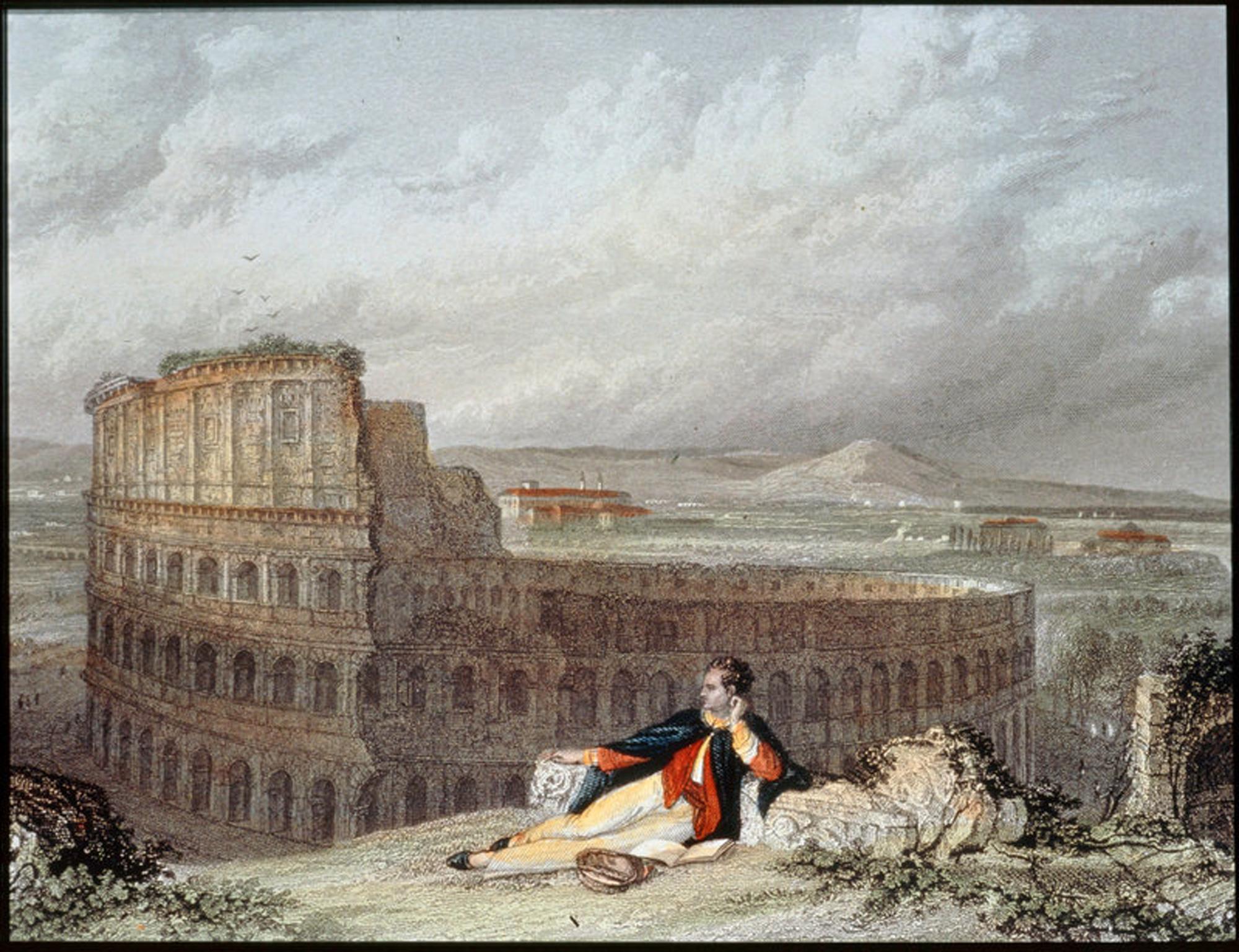 Байрон в Рим
