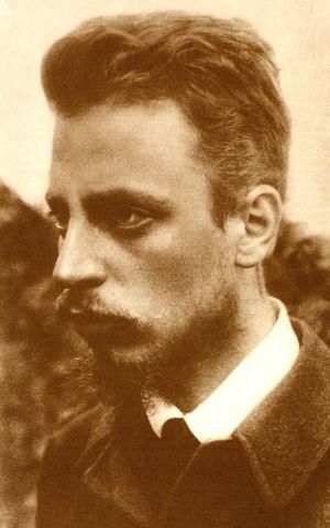 Рилке през 1900 г.