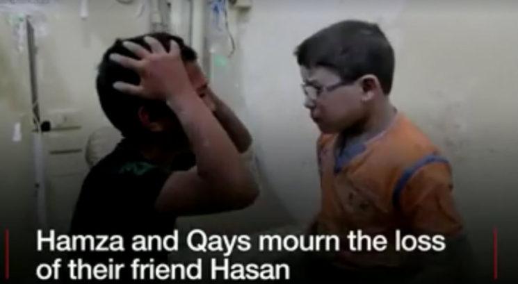 деца в Сирия