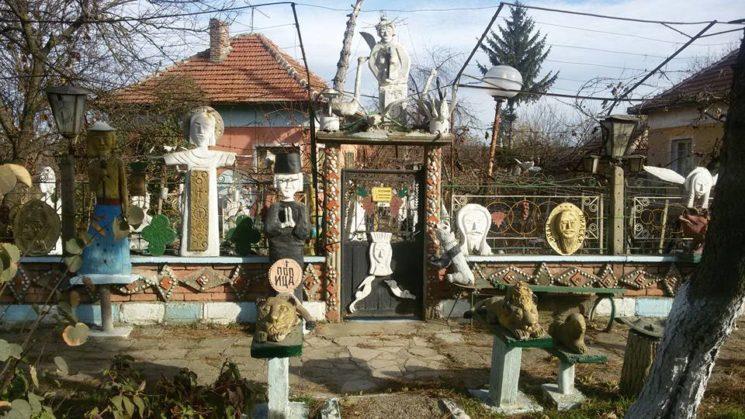 статуи - поп