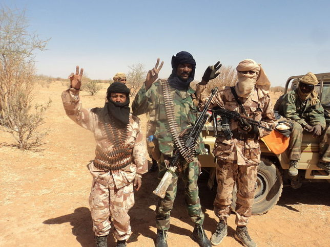 Снимка: By Magharebia - Mali begins Touareg dialogue   بدء الحوار بين مالي والطوارق   Le Mali entame le dialogue avec les Touaregs, CC BY 2.0, https://commons.wikimedia.org/w/index.php?curid=23633217