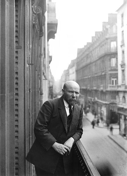 Албер Кан в офиса си през 1940 г.