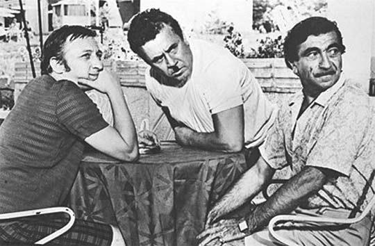 С Парцалев и Калоянчев. Снимка: Архив на Сатиричния театър.