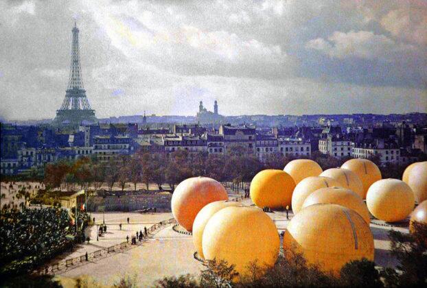 Снимки на Париж