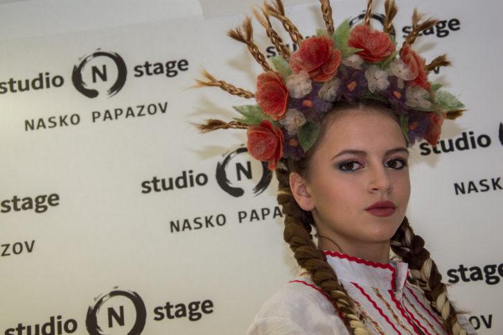 Цялостната визия на модела на Наско Папазов - Анелия, смая всички присъстващи на конкурса.