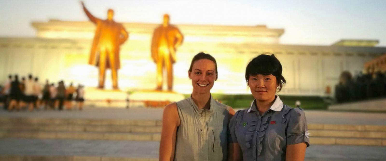 Каси Де Пекол в Пхенян, Северна Корея.