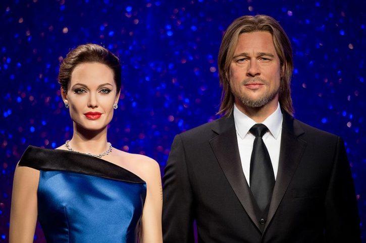 След края на връзката между Брад и Анджелина, фигурите им в Музея също били разделени.