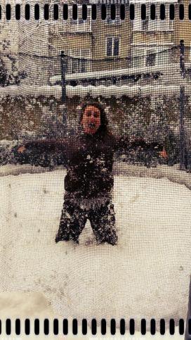 Когато порасна - ще продължавам да ближа снежни висулки...