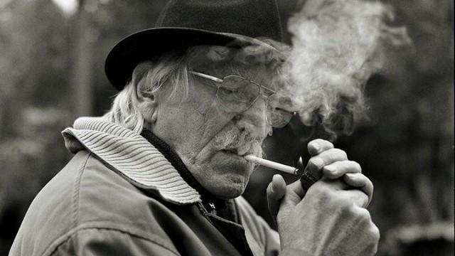 Най-големият порок на Росич бяха цигарите.