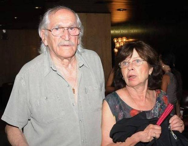 Джоко със съпругата си Лиляна.