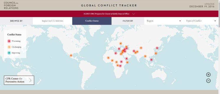 конфликтите по света