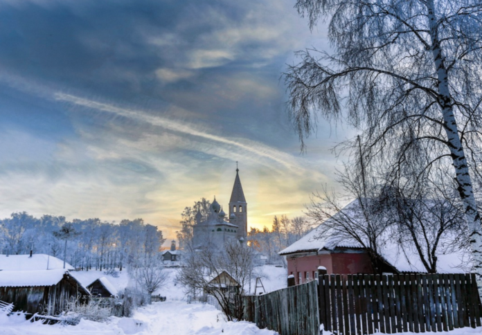 най-красивите села на Русия