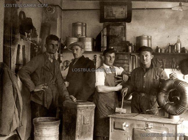 """Работилница за печки и кюнци """"Гарваня"""", 20-те години на ХХ век"""