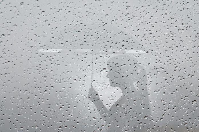 тихият пролетен дъжд