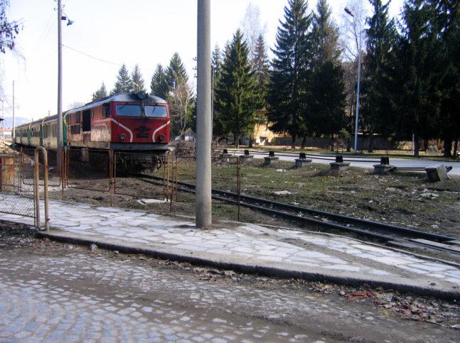 при пътуване с влак