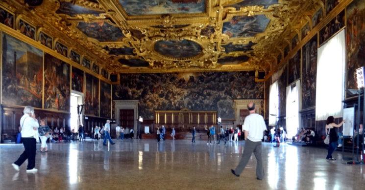 Венеция дожи дворец