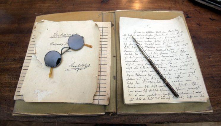 Карл Май - ръкопис