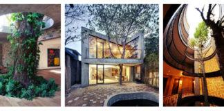 къщи - дървета