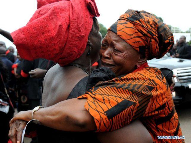 Гана погребение