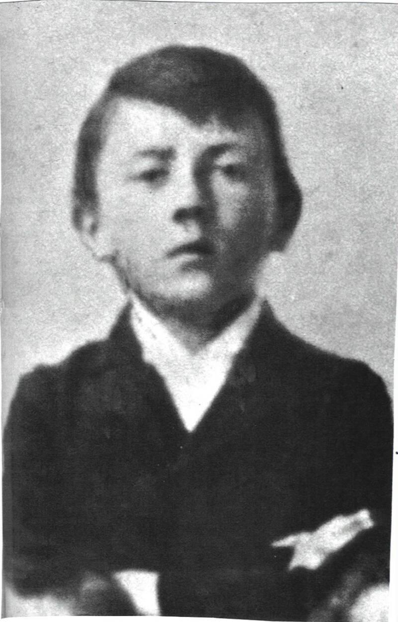 Младият Адолф Хитлер.